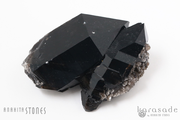 黒水晶クラスター アメリカ・アーカンソー州産_d0303974_17204204.jpg