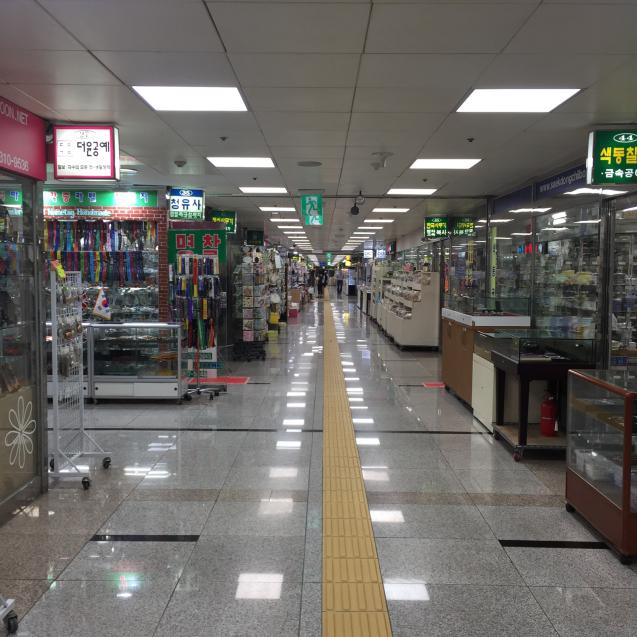 18年6月ソウル8☆南大門でバッグタグを作る_d0285416_19471360.jpg
