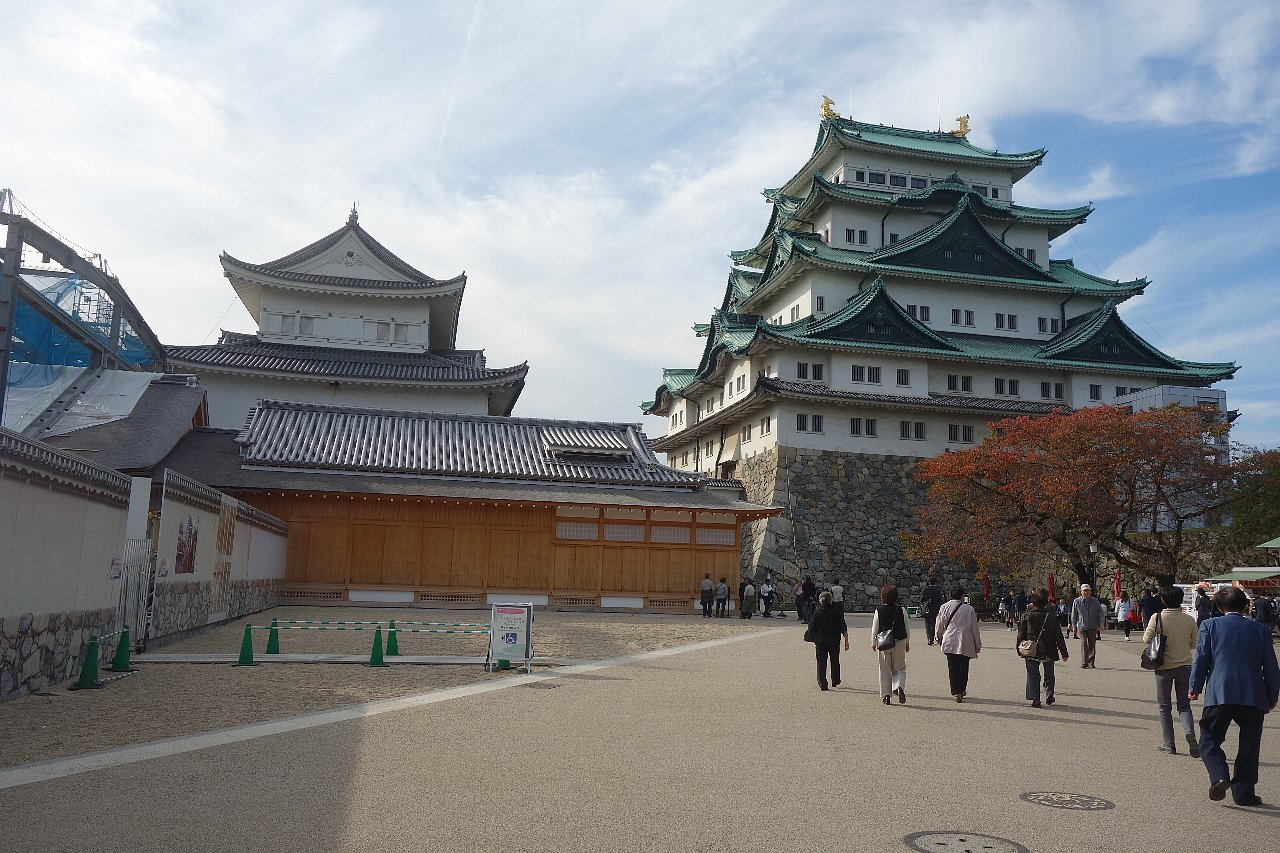 名城公園 名古屋城_c0112559_08374382.jpg