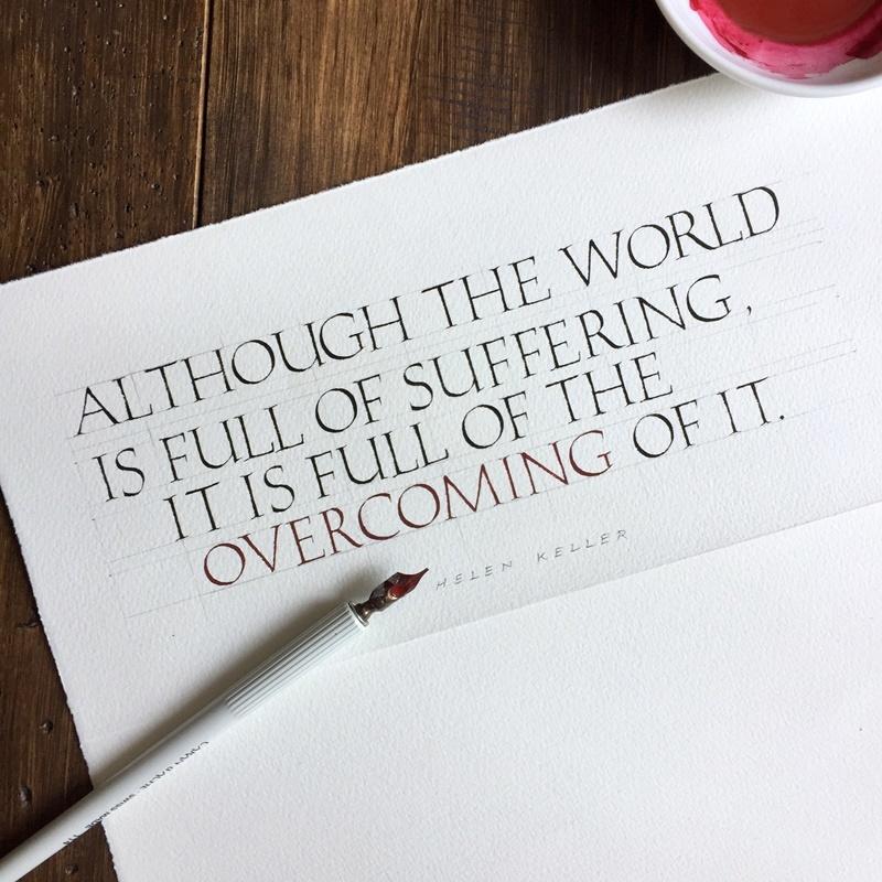ヘレン・ケラーの名言 カルトナージュ同好会 名刺入れ  編み物の贈り物^^_b0165872_19280535.jpg