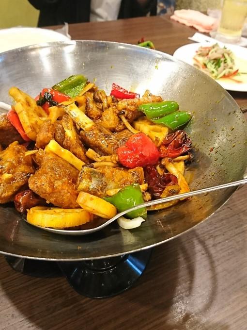 【外食しよう】羊肉と東北料理で暑気払いの食事会_e0274872_21134825.jpg