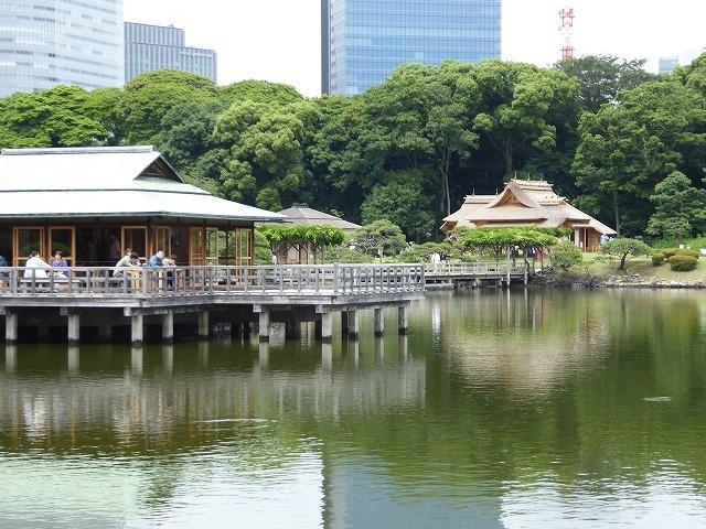 浜離宮はいつ行っても気持ちのいい庭園♪ 花と運河と池と御茶屋と♪_b0287088_16132004.jpg
