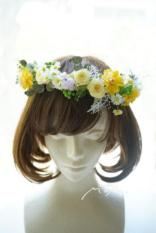 #花冠 黄色系のお花で!_a0136507_22281212.jpg