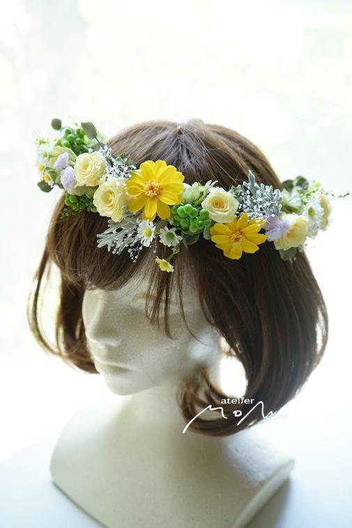 #花冠 黄色系のお花で!_a0136507_22284717.jpg