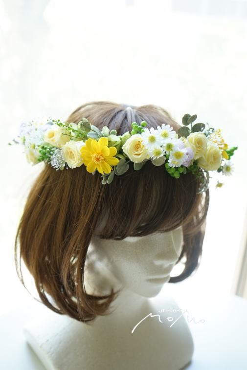 #花冠 黄色系のお花で!_a0136507_22301974.jpg