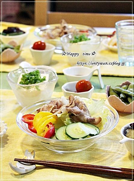 焼きカレーオムレツ弁当と今夜のおうちごはん♪_f0348032_18345564.jpg