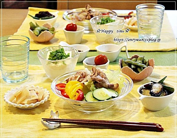 焼きカレーオムレツ弁当と今夜のおうちごはん♪_f0348032_18350237.jpg
