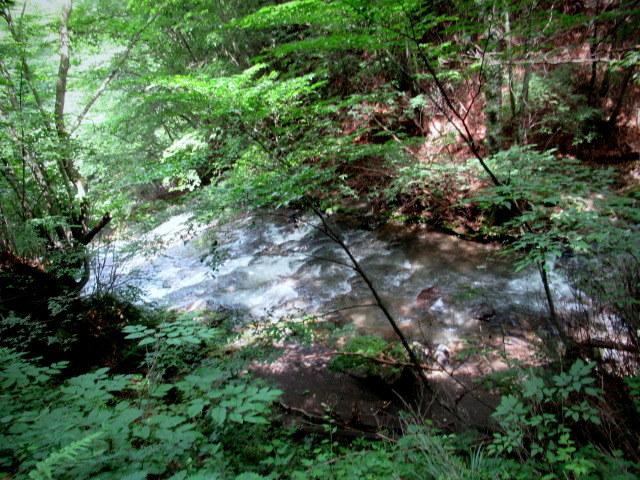 ②暑中お見舞い*浅間大滝~豪快な水しぶきに涼む♪_f0236260_16284908.jpg