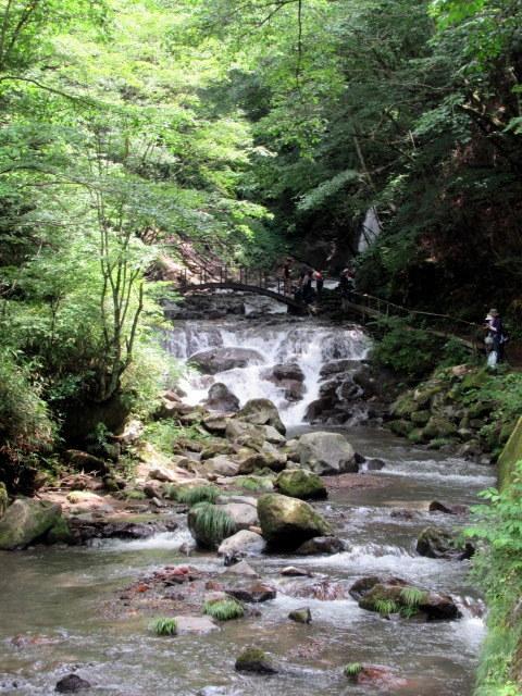 ②暑中お見舞い*浅間大滝~豪快な水しぶきに涼む♪_f0236260_16294876.jpg