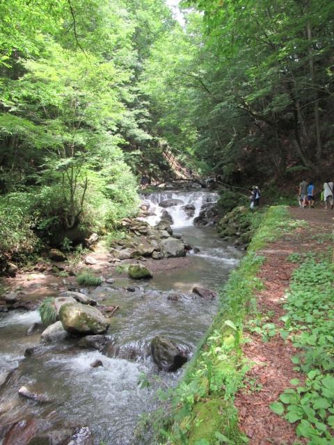 ②暑中お見舞い*浅間大滝~豪快な水しぶきに涼む♪_f0236260_16304571.jpg