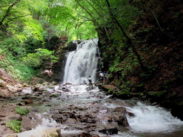 ②暑中お見舞い*浅間大滝~豪快な水しぶきに涼む♪_f0236260_16480467.jpg