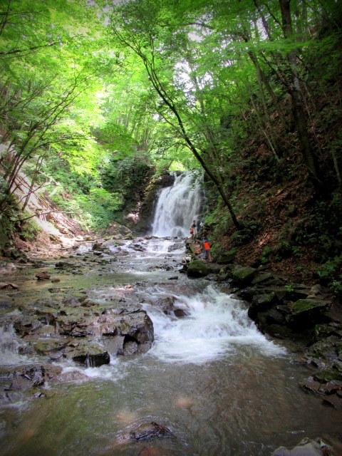 ②暑中お見舞い*浅間大滝~豪快な水しぶきに涼む♪_f0236260_17001595.jpg