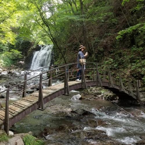 ②暑中お見舞い*浅間大滝~豪快な水しぶきに涼む♪_f0236260_19341695.jpg