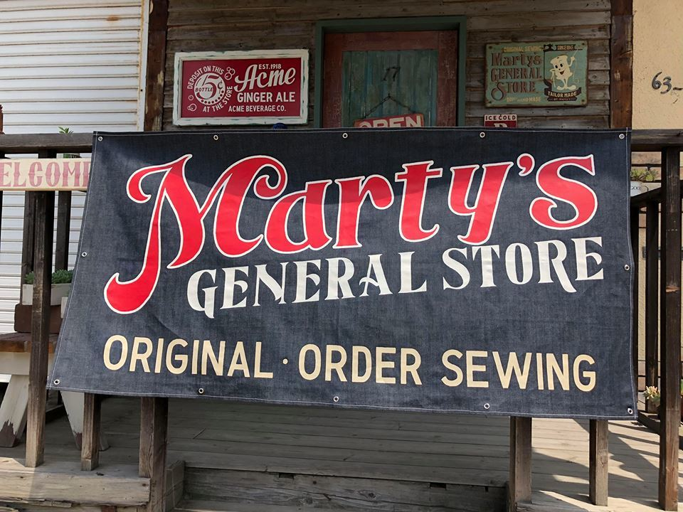◆ Brand banner ◆ - Marty's GENERAL STORE