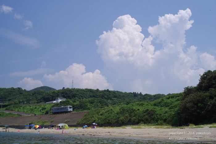 夏の海岸を_d0309612_23480586.jpg