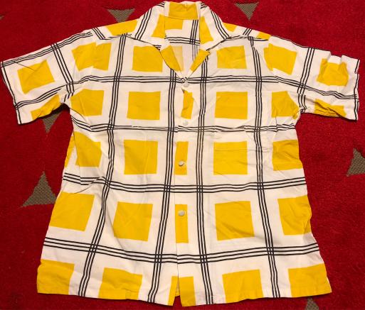 50s all cotton shirts!_c0144020_21172547.jpg
