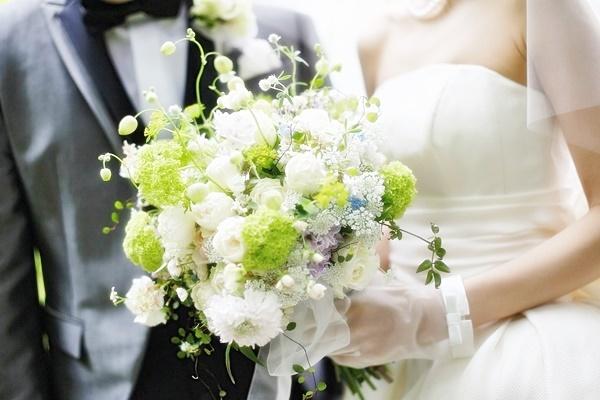 卒花嫁様 八芳園の花嫁様、4月の新緑の中に _a0042928_19593190.jpg