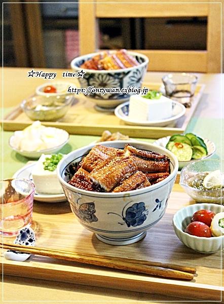 トウモロコシと枝豆の天ぷら素麺弁当と今夜は鰻丼♪_f0348032_18585034.jpg