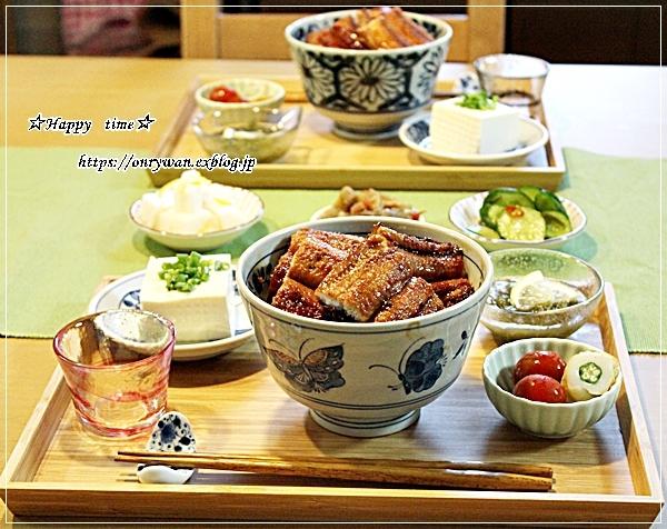 トウモロコシと枝豆の天ぷら素麺弁当と今夜は鰻丼♪_f0348032_18591194.jpg