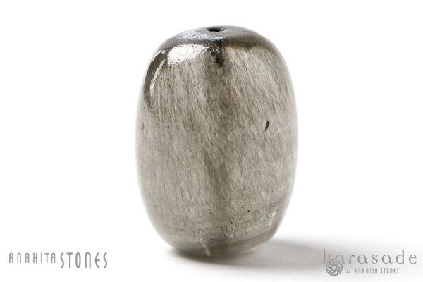 ゴールデンゲーサイトinカルサイト 樽型ビーズ_d0303974_19173494.jpg