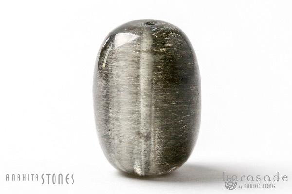 ゴールデンゲーサイトinカルサイト 樽型ビーズ_d0303974_19222199.jpg