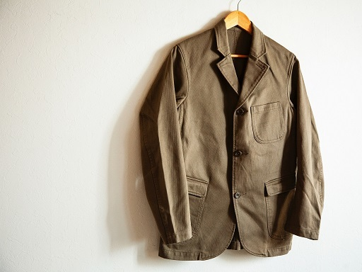 "WORKERSより""Lounge Jacket \""のご紹介です!!_d0160378_14034899.jpg"