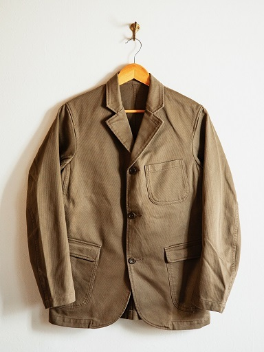 "WORKERSより""Lounge Jacket \""のご紹介です!!_d0160378_14040699.jpg"