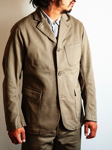 "WORKERSより""Lounge Jacket \""のご紹介です!!_d0160378_14041318.jpg"