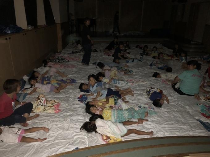 お泊まり保育 - 川崎ふたば幼稚園ブログ