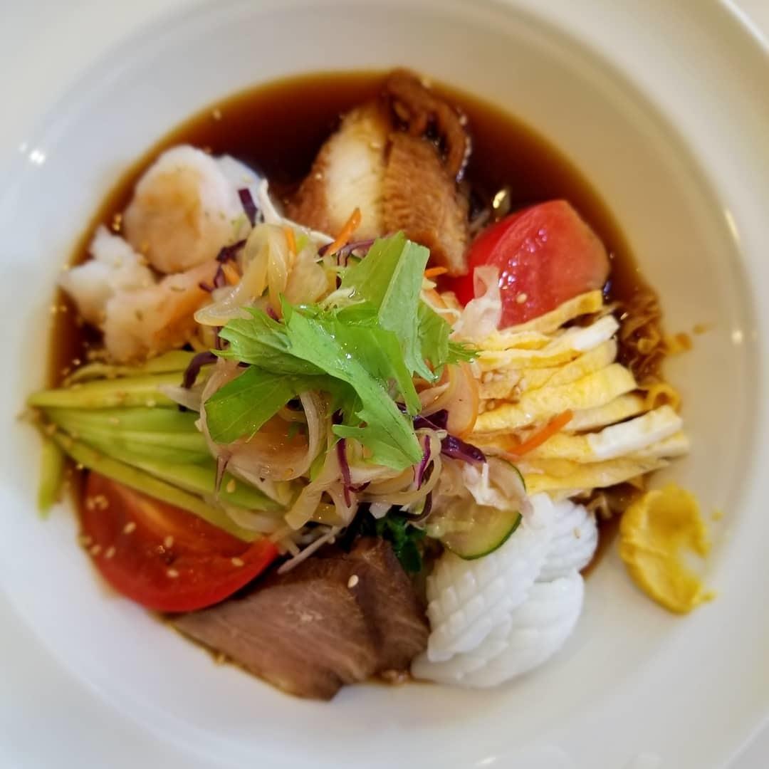 中華料理 清徳 * 豪華な海鮮五目冷麺と麻婆豆腐♪ @北軽井沢_f0236260_02423359.jpg