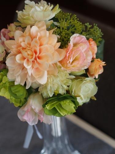 【Round bouquet】_d0144095_12144584.jpg