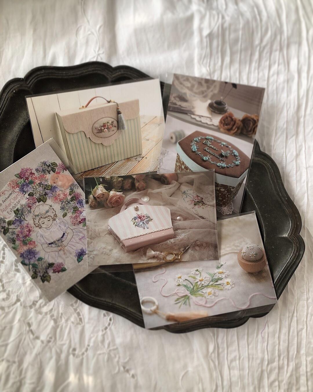 「しあわせのリボン刺しゅう」展 @LINNET京都での販売キットやアイテムについて_a0157409_16525065.jpeg