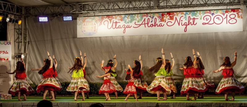 UTAZU ALOHA NIGHT 2018 芝生広場ステージ ①_d0246136_16394774.jpg