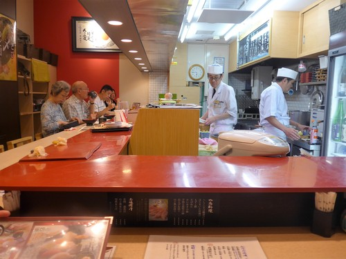 金沢「金沢まいもん寿司」へ行く。_f0232060_17391699.jpg