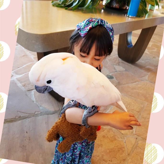 Hawaii…♡6♡ (帰り。空港で卒業生chanに☆)_d0224894_16143459.jpg