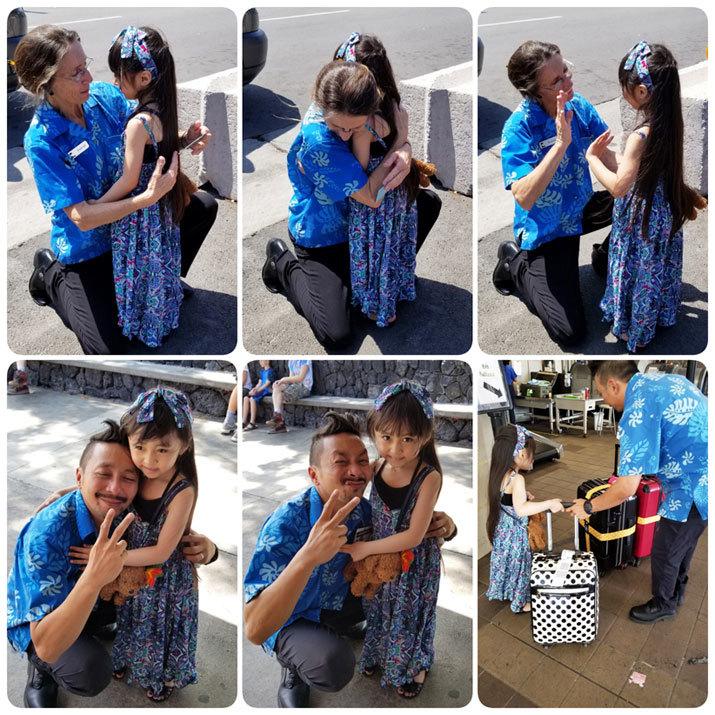 Hawaii…♡6♡ (帰り。空港で卒業生chanに☆)_d0224894_18531571.jpg