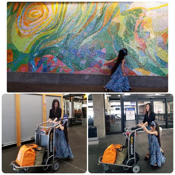 Hawaii…♡6♡ (帰り。空港で卒業生chanに☆)_d0224894_20112480.jpg
