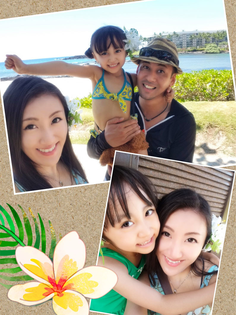 Hawaii…♡6♡ (帰り。空港で卒業生chanに☆)_d0224894_22232764.jpg