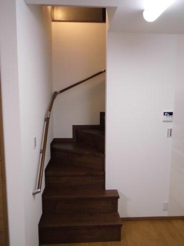 階段リフォーム_e0190287_21520095.jpg