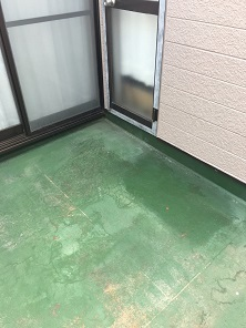 ベランダFRP防水(川越市)_c0183605_09333709.jpg