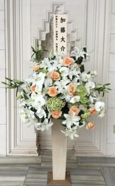 東京ジャーミーにご葬儀のお花をお届けしました。_d0029716_16544484.jpg