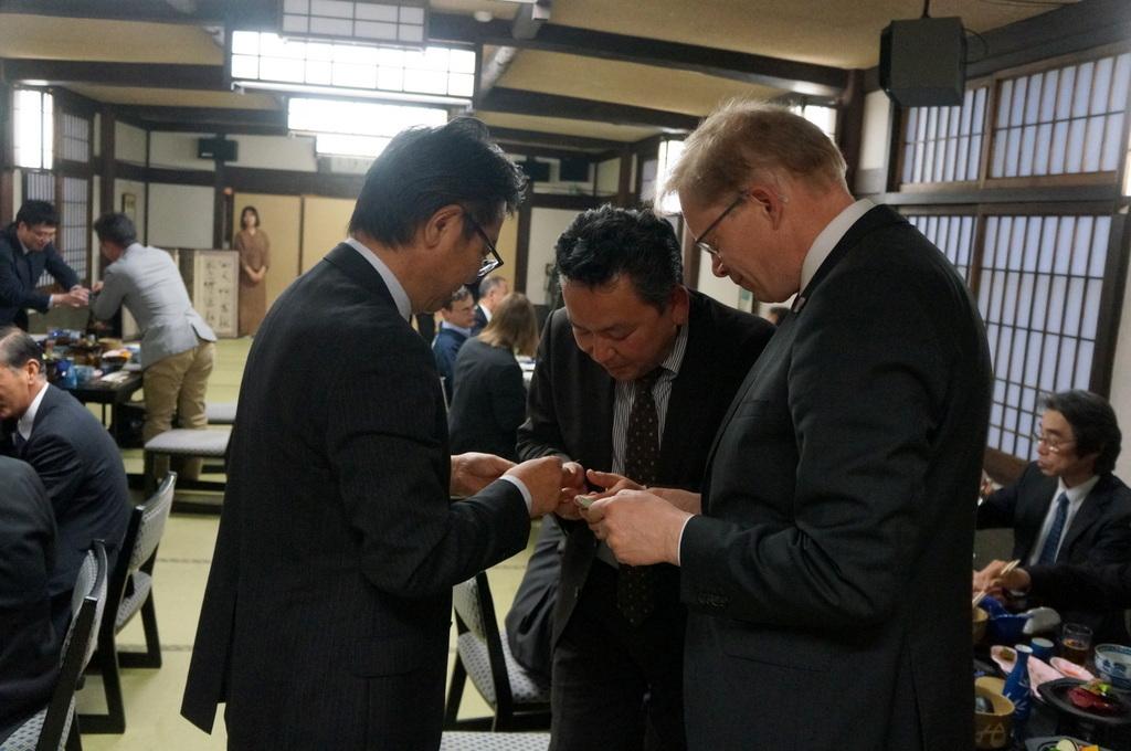 津和野下森町長主催、ミッテ区代表団レセプション_c0180686_21402481.jpg