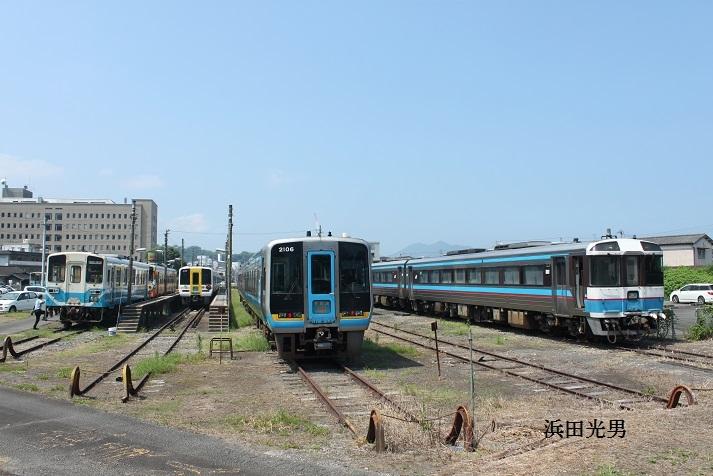 ○JR四国 宇和島の列車の様子_f0111289_21594581.jpg