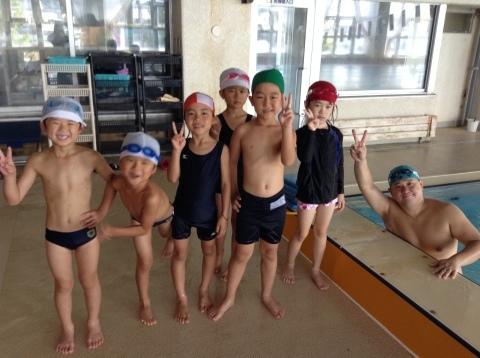 夏休み短期水泳教室 第1期が始まりました♪_b0286596_13143795.jpg