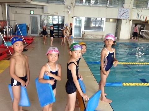 夏休み短期水泳教室 第1期が始まりました♪_b0286596_13154106.jpg