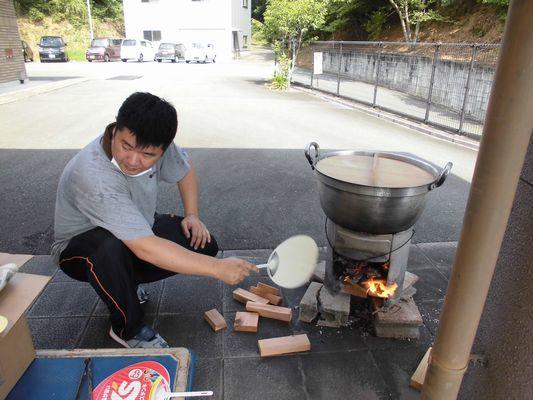 7/24 炊き出し訓練_a0154110_14564810.jpg