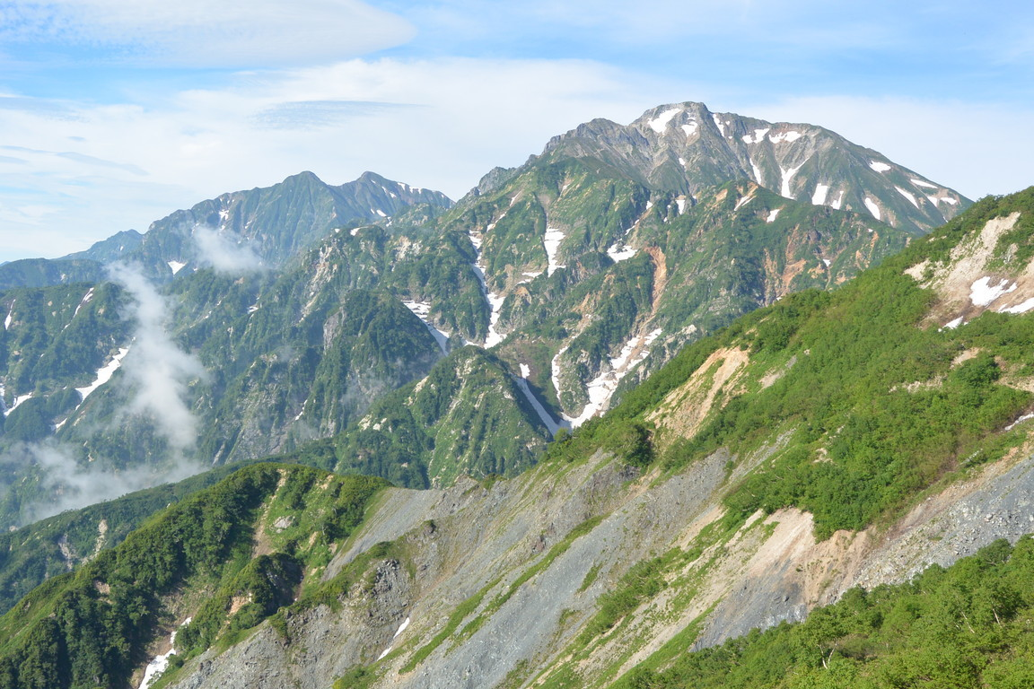 "2018年7月『北アルプス白馬岳から唐松岳へ』 July 2018 ""Japan Alps: From Mt Hakuba to Mt Karamatsu\""_c0219616_12562858.jpg"