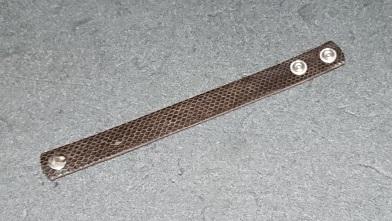 お買い得なブレスレット 『クラフトウォーカー』ウミヘビ革ブレスレット_c0364960_17473955.jpg