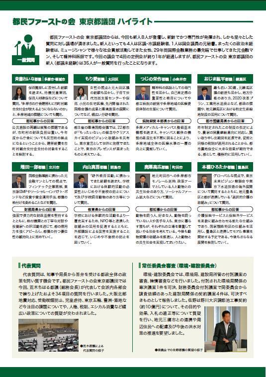 都議会レポートNo.4夏号発行_f0059673_22300123.jpg