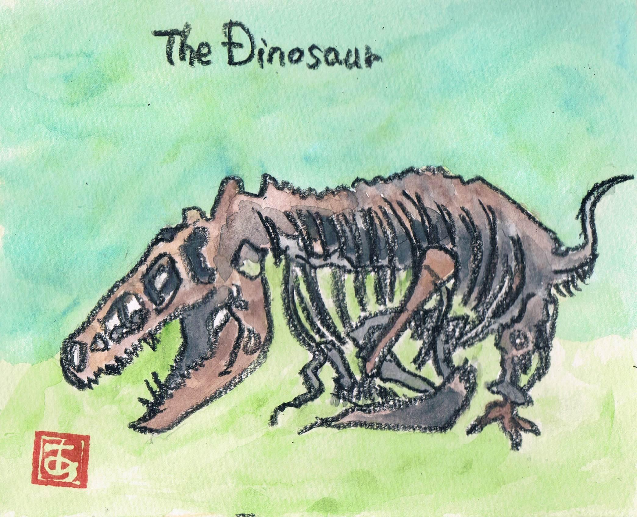 ティラノサウルス?_e0232277_12004566.jpg